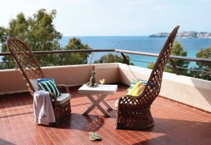 Porto Carras Sithonia Thalasso and Spa Hotel - Presidential Suite Veranda