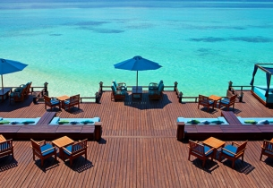 Бар, Хотел Sheraton Maldives Full Moon Resort Spa