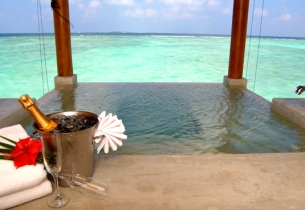 Water Suite, Хотел Sheraton Maldives Full Moon Resort Spa