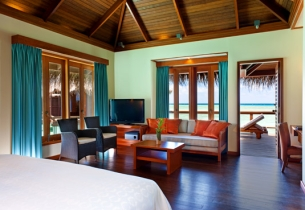 Water Villa, Хотел Sheraton Maldives Full Moon Resort Spa