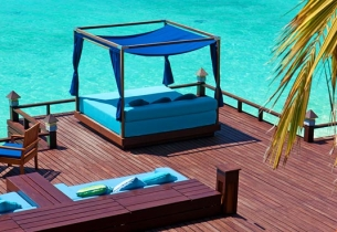 Бар Anchorage, Хотел Sheraton Maldives Full Moon Resort Spa