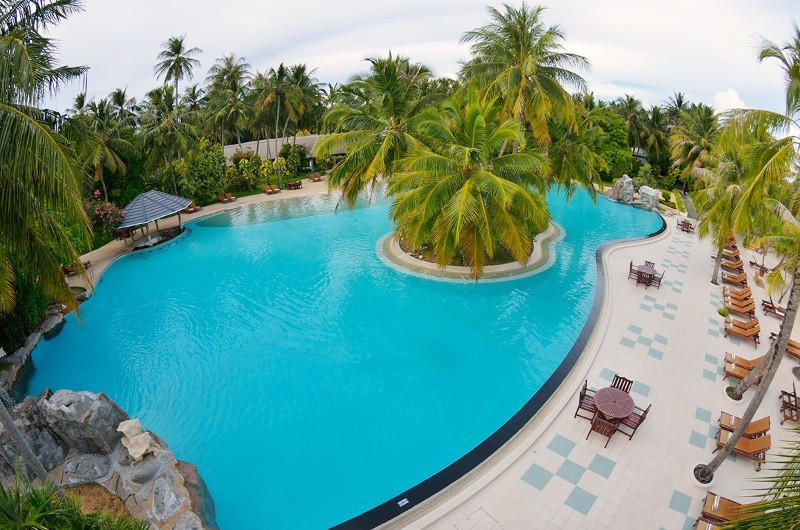 4Sun Island Resort Beach Pool